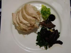 Hainanese Chicken Red Braised Beef Ribs