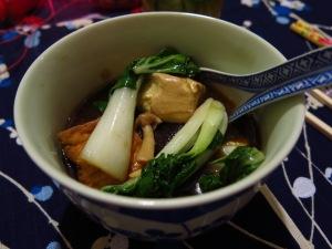 Braised Tofu Mushrooms Vegetables