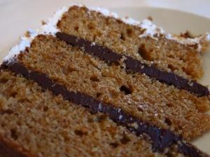 Smore Cake Inside