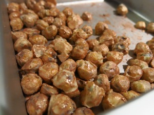 White Chocolate Toasted Hazelnuts