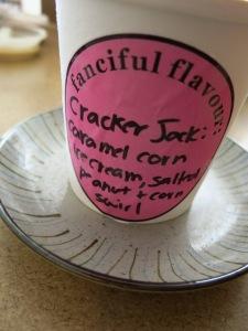 Cracker Jack Ice Cream