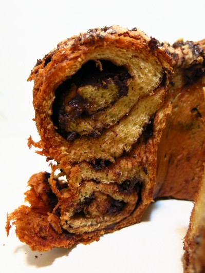 Yeasted Chocolate Coffee Cake