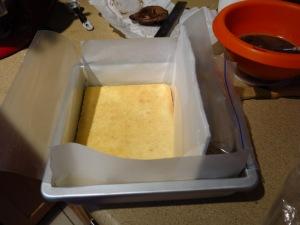 Tiramisu Cake - pan