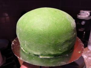 Prinsesstarta Cake Before Icing