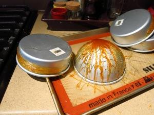Caramel on Molds